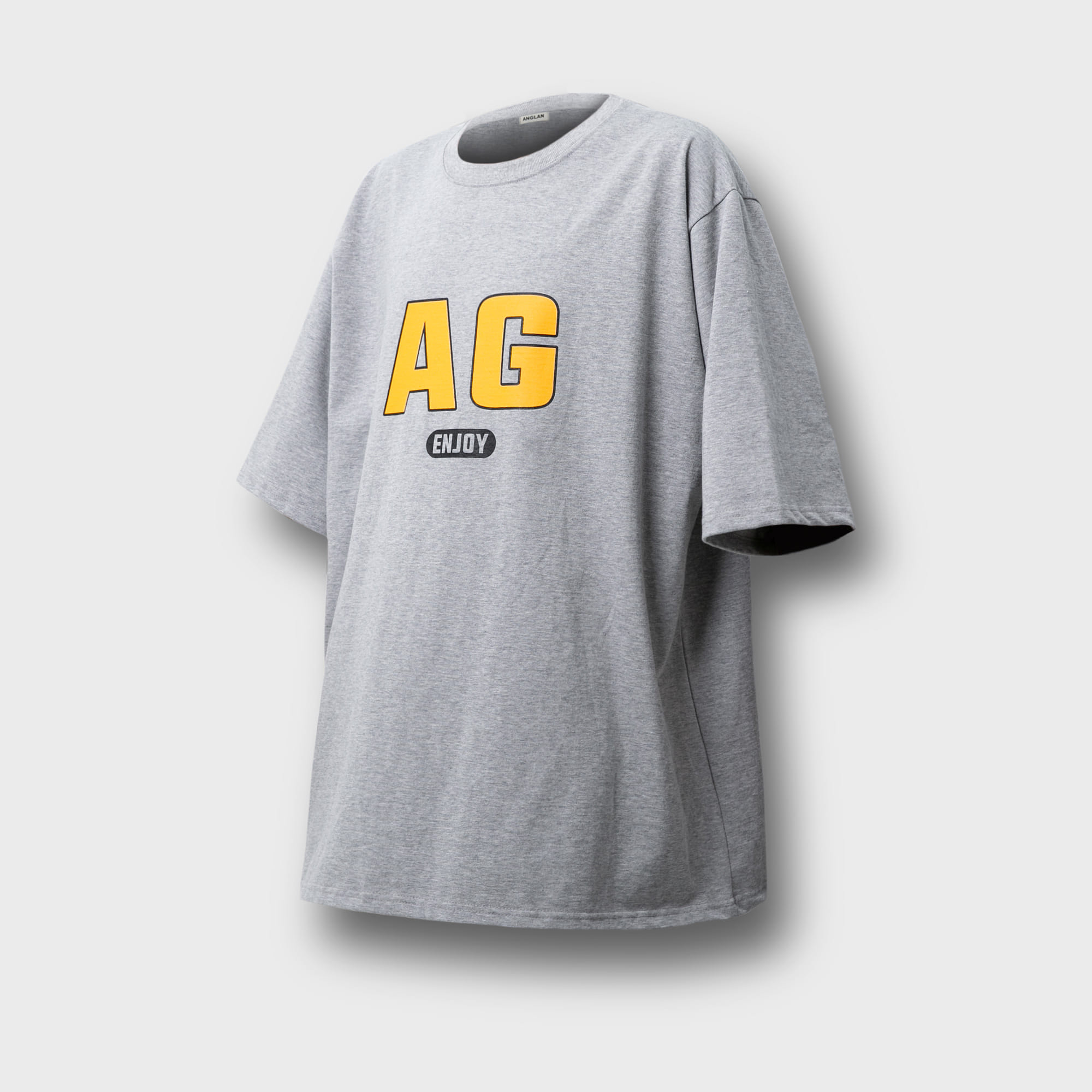 [AG] AG Logo Over Tee - Grey