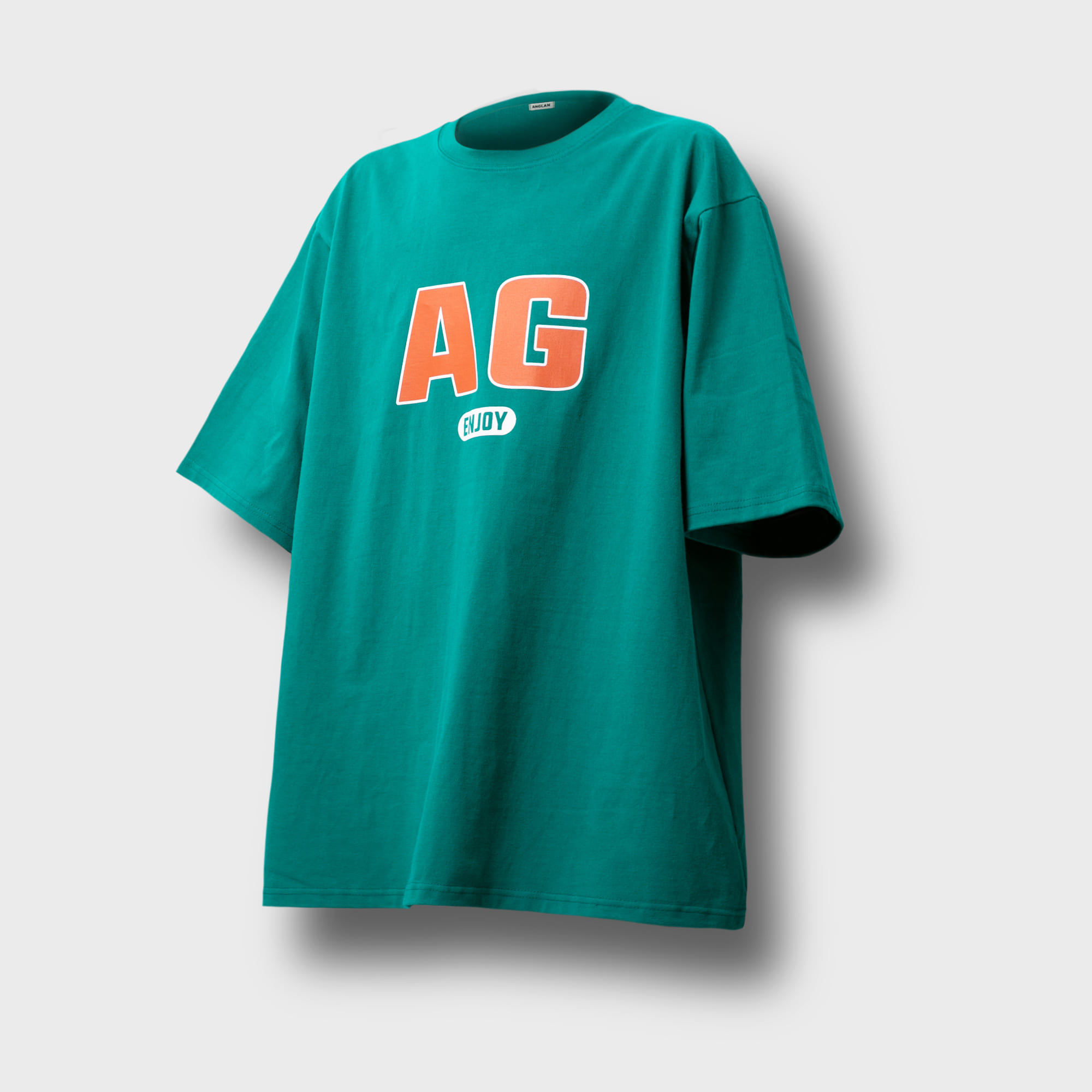 [AG] AG Logo Over Tee - Green
