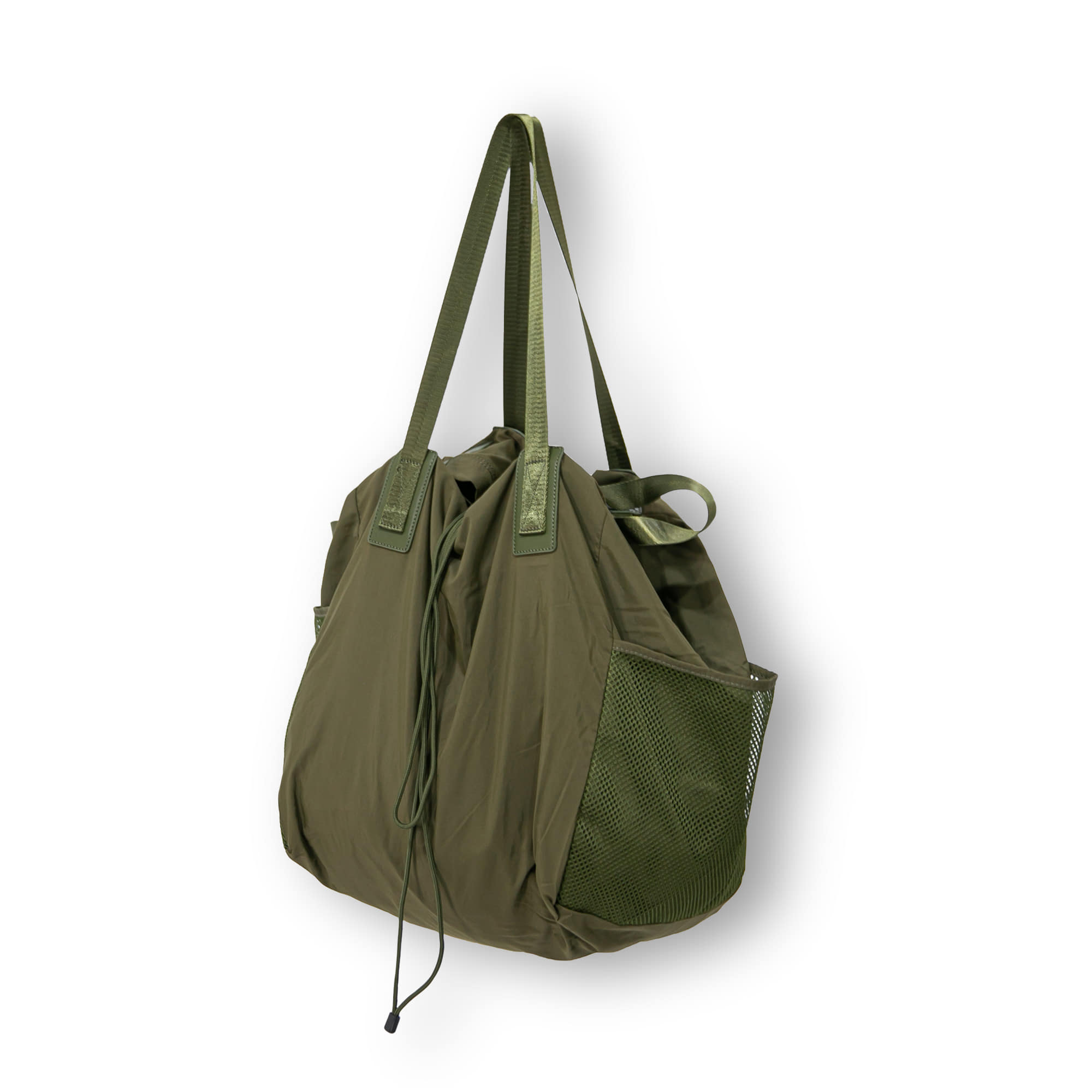 Mesh Double Two way Bag - Khaki