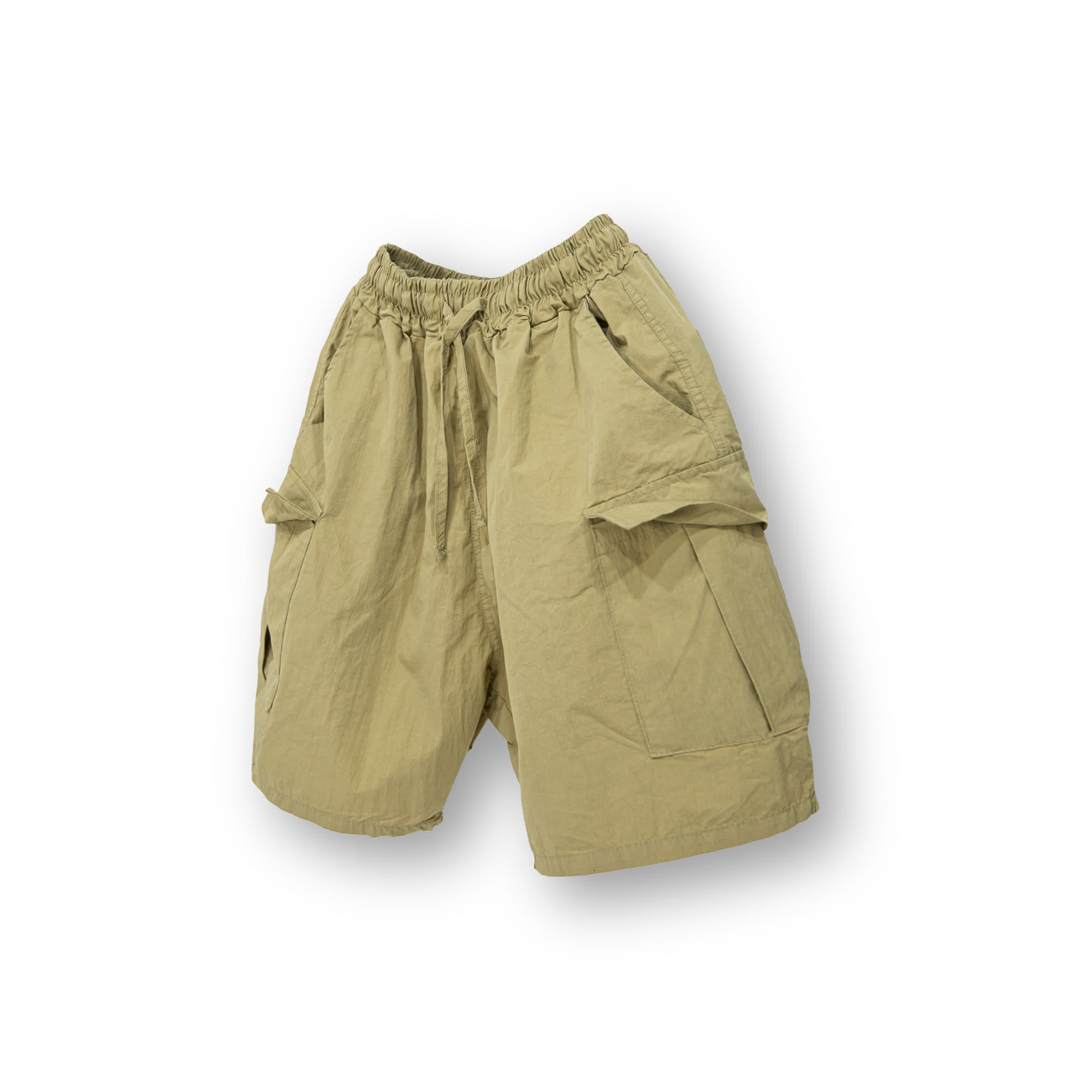 Volume Cargo Shorts - Beige