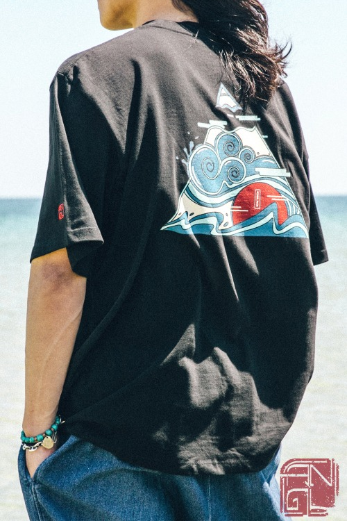 Wind Wave Tee - 2color