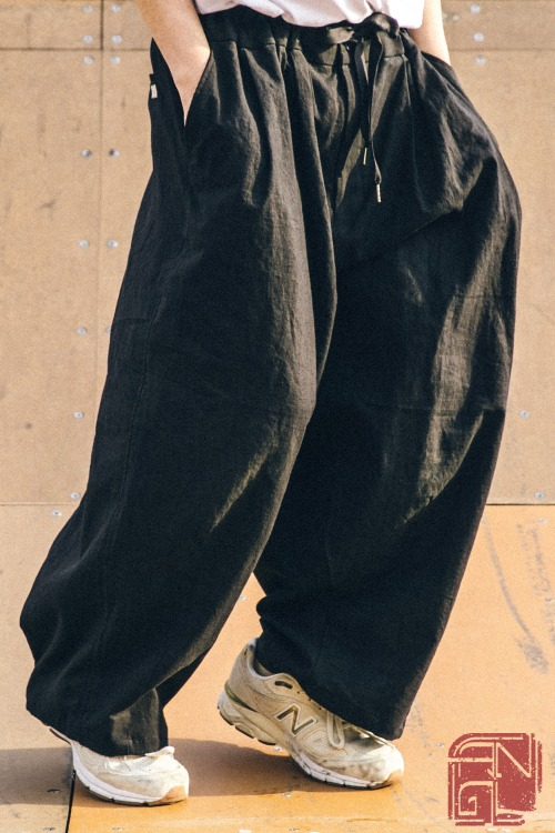 Linen Balloon Pants - 3color [ 리오더 종료 ]