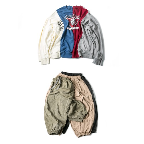 Horn Rebuild Sweat Shirts & Jogger Balloon Pants
